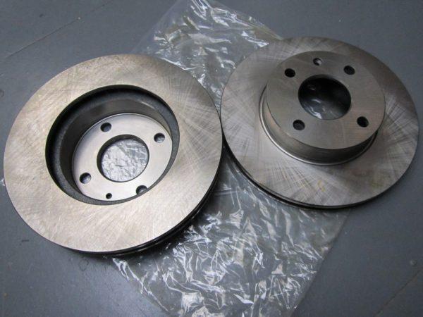Brake disc Cortina front - Tiger upgrade