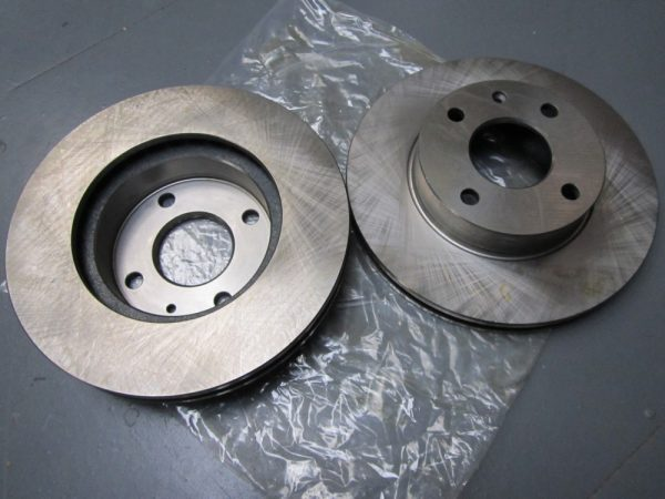 Brake Disc front vented (pair) Tiger upgrade type