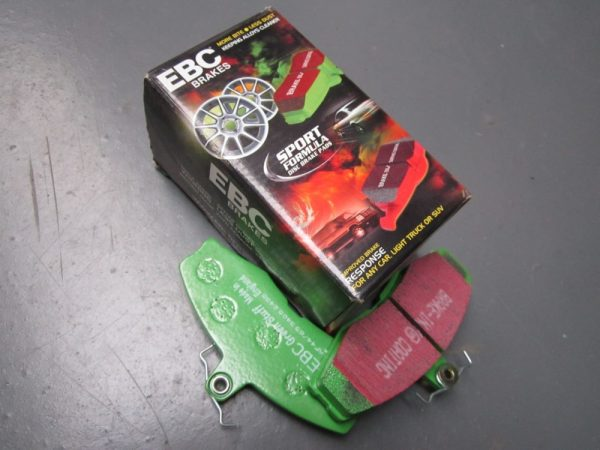 Brake pads Front Green stuff Avon - GTA (Ford caliper)