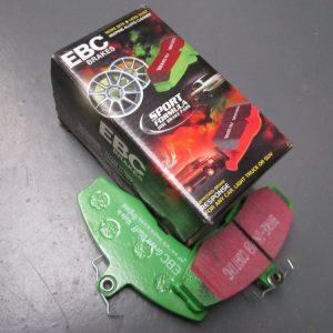 Brake pads green stuff frontTiger brake upgrade