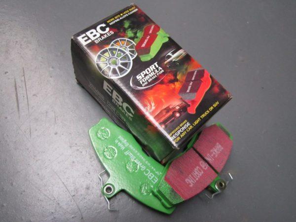 Brake pads green stuff Sierra Cosworth