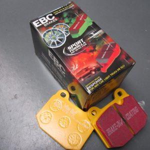 Brake pads rear yellow tarox