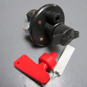 Battery cut out switch -cuts alternator - motor sport