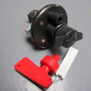 Battery cut out switch -cuts alternator - motor sport