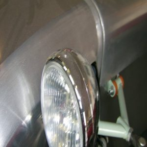 "Headlamp 5 3/4 "" Chrome"