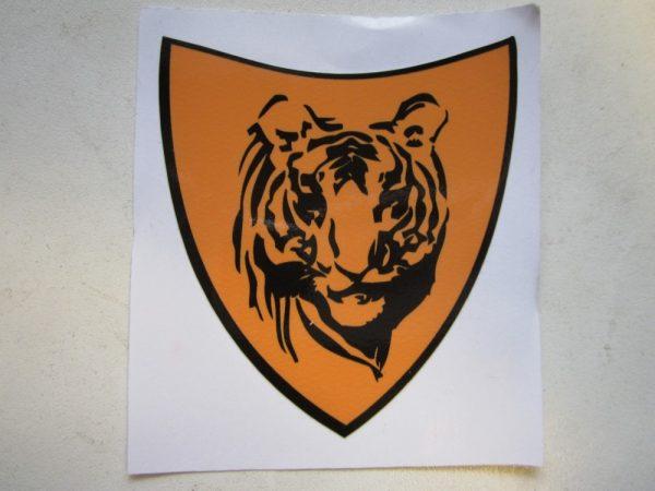 Motive shield tiger