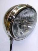 """Headlamp 5 3/4 """" Chrome"""