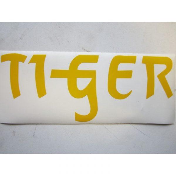 Tiger Sticker Yellow